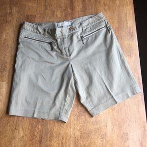 Michael Korda Khaki Shorts